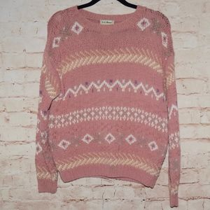Vintage L.L. Bean Pullover Sweater